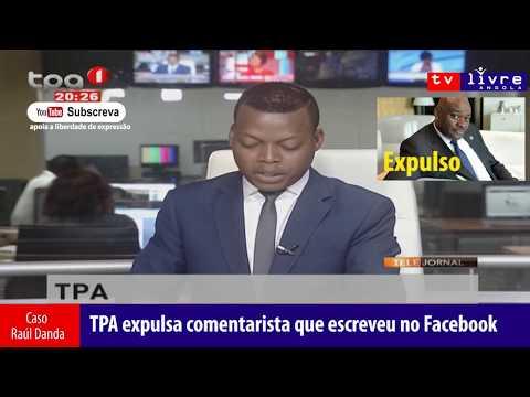 TPA expulsa Raúl Danda por escrever no Facebook