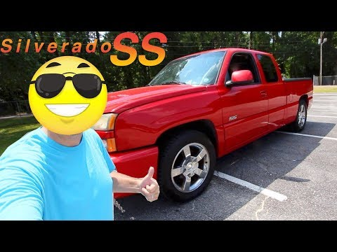 here's-a-'03-chevy-silverado-ss-in-2019-|-test-drive-&-for-sale-review-|-start-up-+-exhaust-sound
