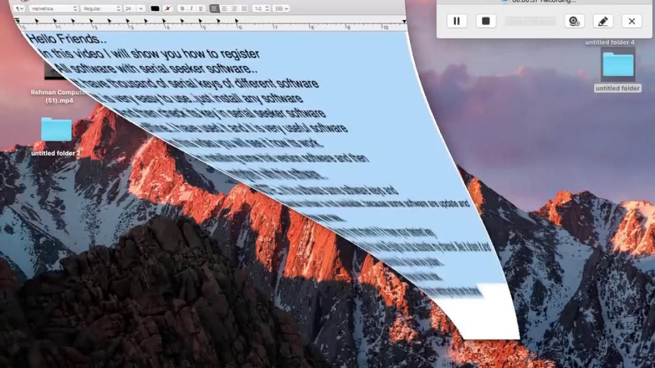 Serial seeker for mac download