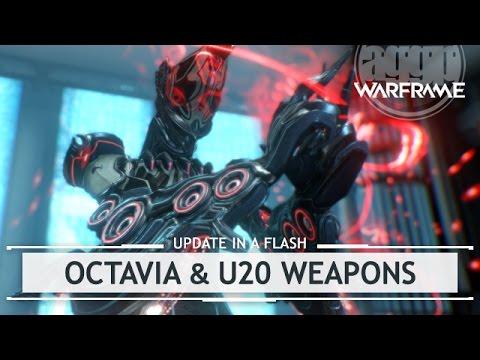 Warframe: Octavia, Tenora, Pandero & U20 New Items [inaflash]