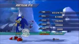 Sonic Unleashed Cool Edge Act 1 Score Attack (194192)