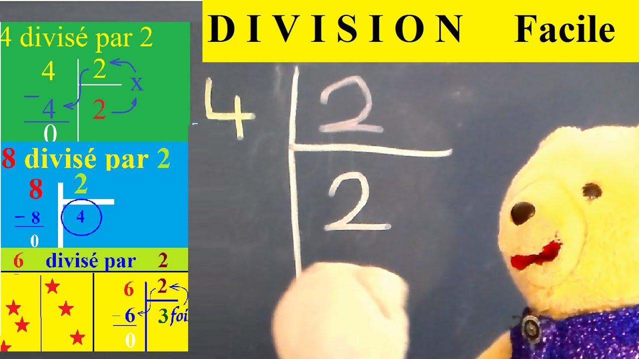 b.a.-ba : division | Méthode simple cp ce1 ce2 clis clad - YouTube