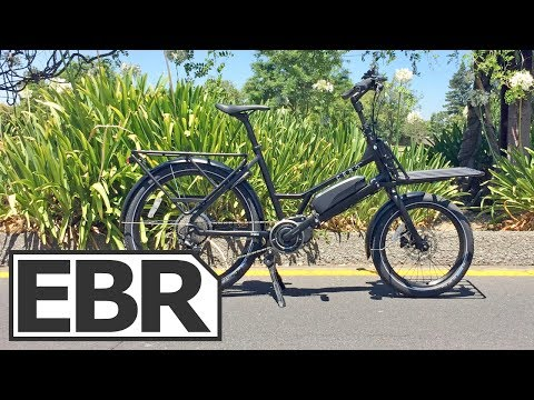 CERO One Video Review - Compact Electric Cargo Mamarachi Bike