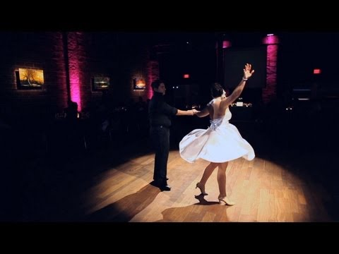 AWESOME Surprise 'Dirty Dancing' First Dance at a Wedding Reception