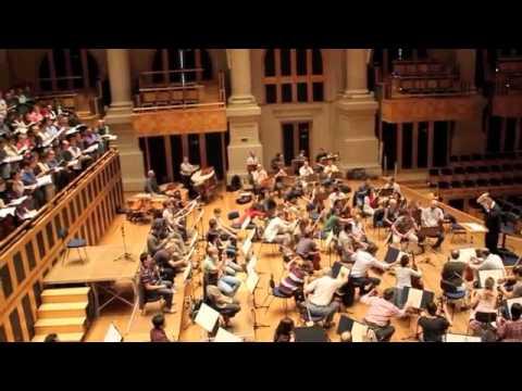 """Ensaio Osesp - Giuseppe Verdi """"Missa de Réquiem"""" sob regência de Claus Peter Flor"""