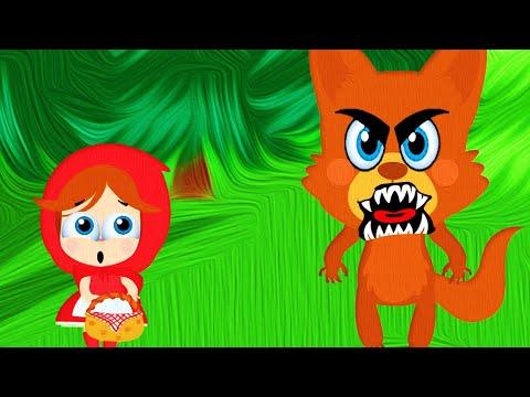 Красная Шапочка и Серый Волк | Сказки на ночь для детей | Мультики