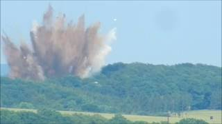 Video Explosion of an arial bomb - Nordhausen 08.06.2016 download MP3, 3GP, MP4, WEBM, AVI, FLV Agustus 2017