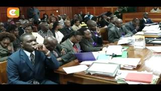 Willie Kimani murder case adjourned  after lawyer Cliff Ombeta taken ill
