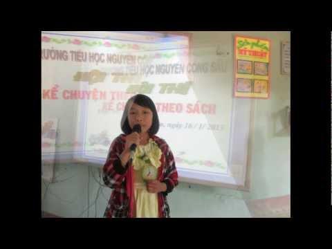 Hội thi Kể chuyện theo sách Trường TH Nguyễn Công Sáu_ 16/1/2013