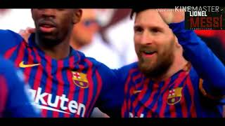 THE KING LIONEL MESSI  SKILLS AND GOALS 2018_19