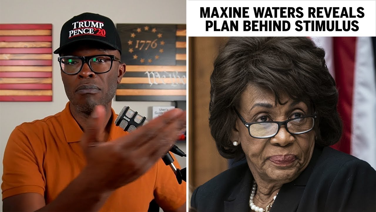 Maxine Waters Reveals The Plan