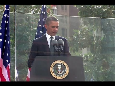 President Obama Reads Psalm 46 at 9/11 Memorial