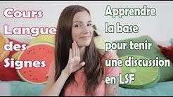 Cours Langue des Signes pour tenir une conversation en LSF