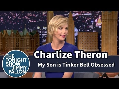 Charlize Theron's Son Is Tinker Bell Obsessed