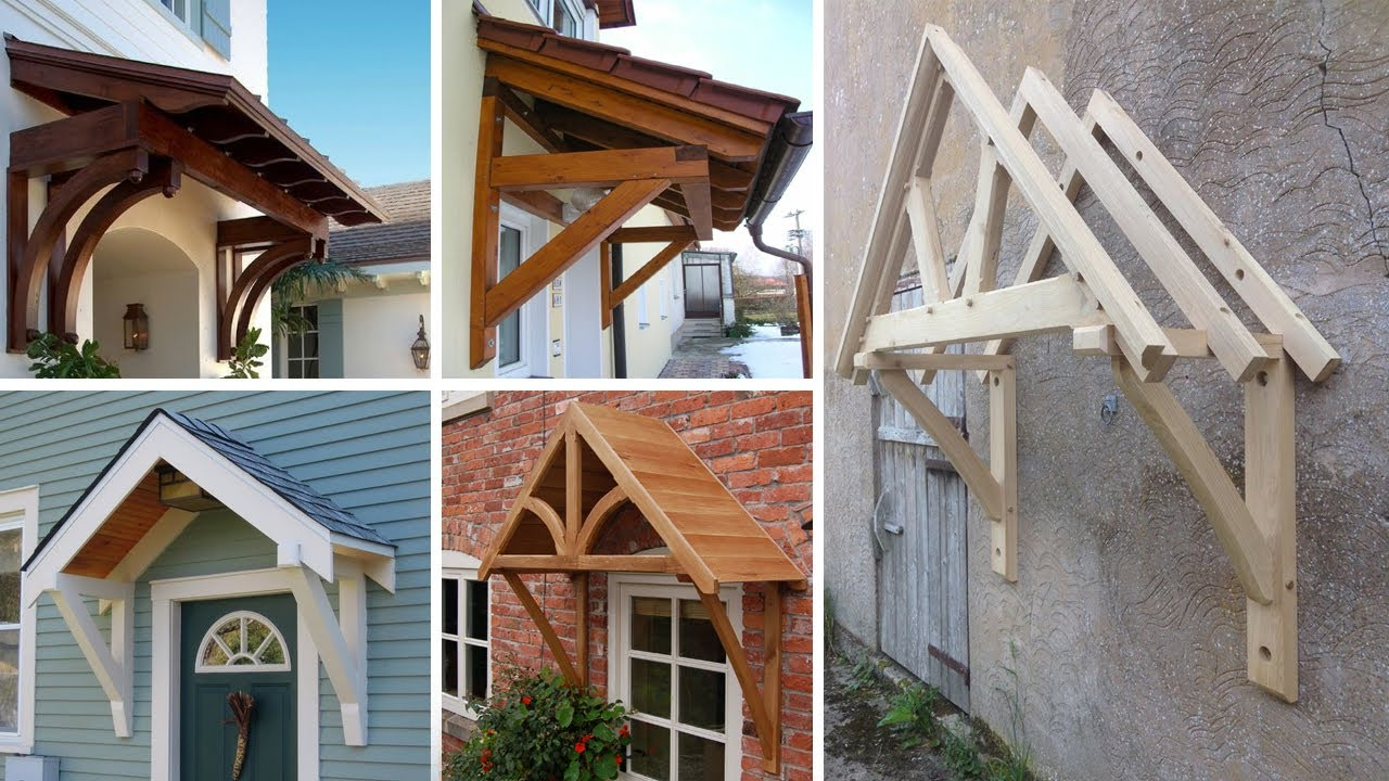 Download Wooden awning ideas / front door , window canopy ideas