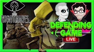 Little Nightmares   LIVE PS4   Defending The Game