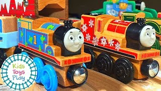 Thomas Train | Thomas And Friends Wooden Railway Unboxing And Review | Thomas Train Wood | Toy Train