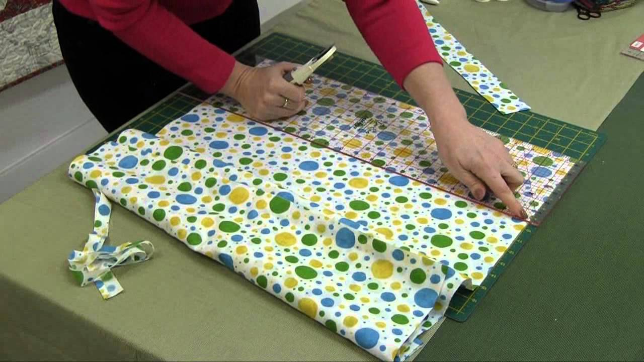 Basic quilting and patchwork cutting tips from sew easy youtube jeuxipadfo Gallery