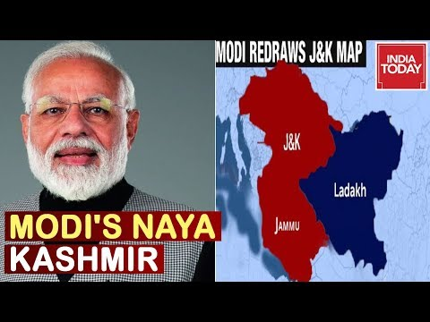 Article 370 Scrapped: Modi Govt Decides To Bifurcate The State Of J&K Into Two Union Territories