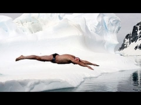 Swimming in Ice Cold Water- The Human Polar Bear