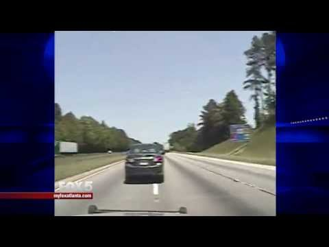 Dash cam video from deadly chase along I-85 - YouTube