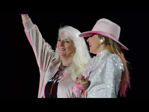 Lady Gaga Brings Mom On Stage & Million Reasons  @ Joanne World Tour: San Francisco 81317