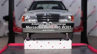 Wie MERCEDES-BENZ 190 (W201) Endtopf auswechseln - Tutorial