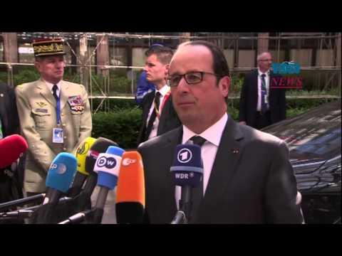 European Union Summit in Brussels