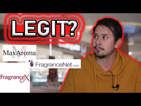 ARE FRAGRANCE DISCOUNTERS LEGIT? - DO FRAGRANCENET FRAGRANCEX AND MAXAROMA SELL REAL FRAGRANCE?