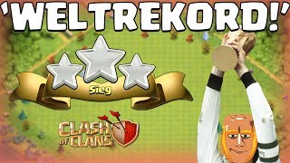 CLASH OF CLANS ⭐️ 'WELTREKORD' ⭐️ CoC