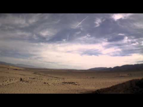 AR Drone 2.0 fly away in Twentynine Palms