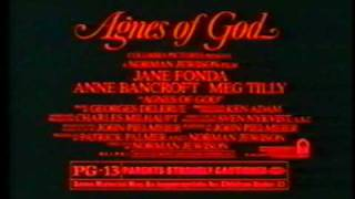 Agnes of God Trailer