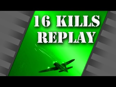 WarThunder - 16 Kills only 3 Deaths on BR 6 - Arcade Replay
