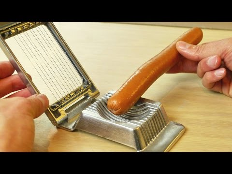 What Else Can It Cut?  - More Egg Slicer Life Hacks
