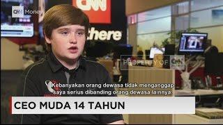 CEO Muda Berusia 14 Tahun Berbagi Cerita