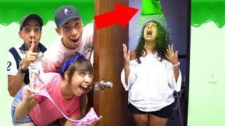 Slime Pranks on our SISTER!