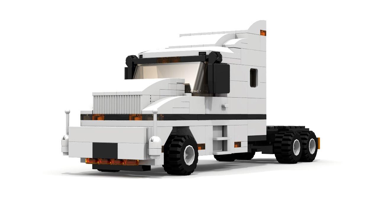 LEGO City Semi Truck Building Instructions - YouTubeLego City Truck Instructions