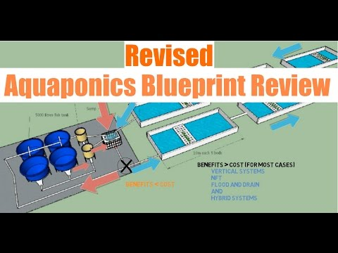 Revised Aquaponics Blueprint Review | Ask The Aquaponics God - YouTube
