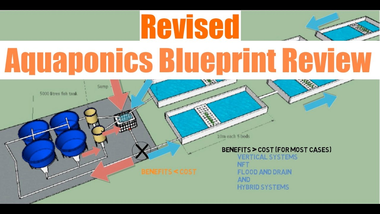 Revised aquaponics blueprint review ask the aquaponics god youtube revised aquaponics blueprint review ask the aquaponics god malvernweather Gallery