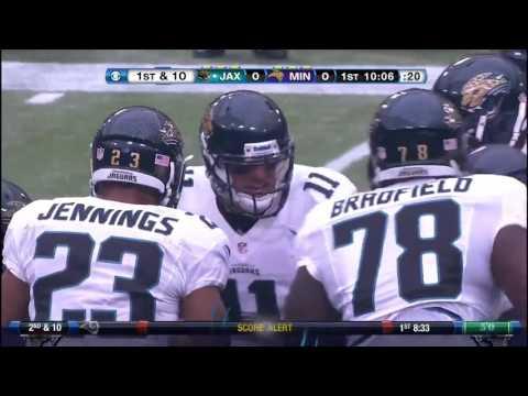 Jacksonville Jaguars @ Minnesota Vikings 2012 Week 1
