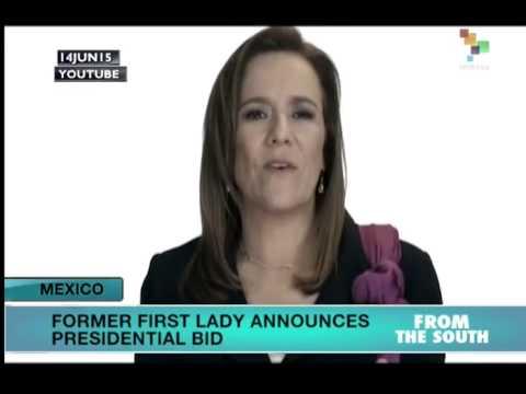 Mexico: Former First Lady Announces Presidential Bid