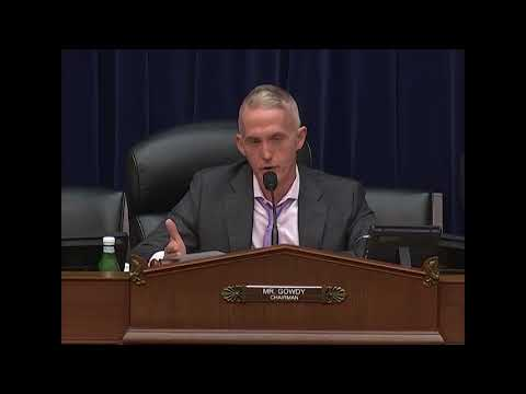 Chairman Gowdy - Challenges Identified by the Inspector General Community