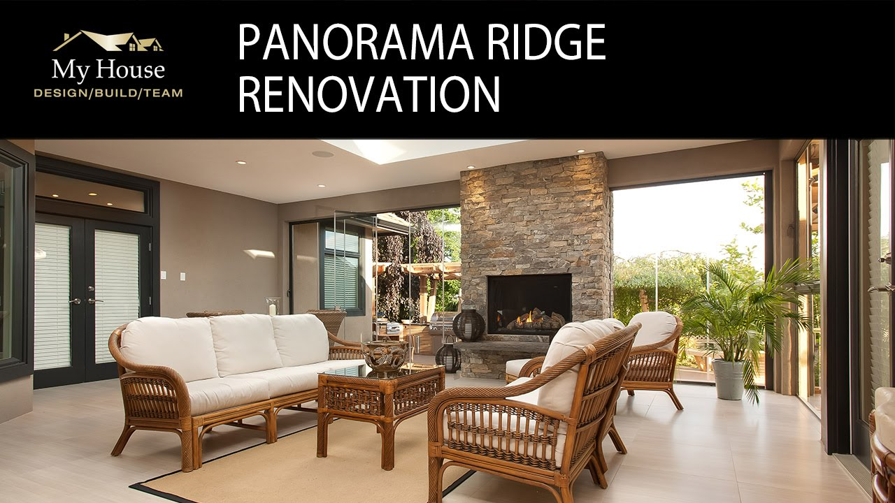 My House Radio   Panorama Ridge Renovation   Client Interview. My House  Design Build Team
