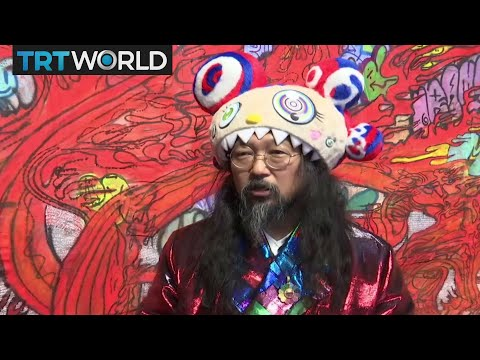 'Japanese Warhol' Takashi Murakami's latest exhibition in Moscow