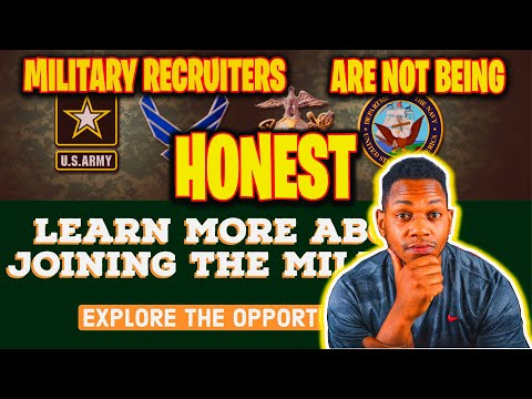 RECRUITERS ARE LYING TO YOU (PRIOR SERVICE MUST WATCH)