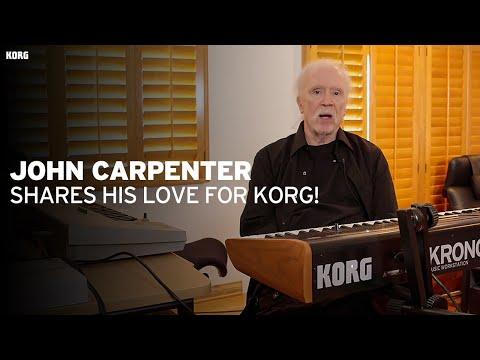 John Carpenter shares his love for Korg!