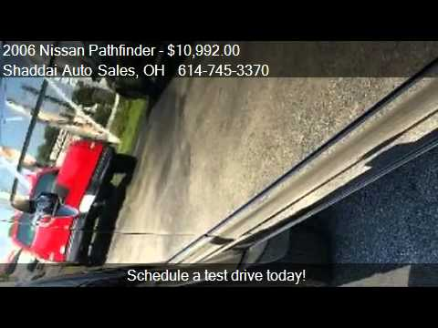 2006 Nissan Pathfinder LE 4WD for sale in Whitehall, OH 4321