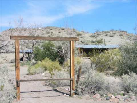 Charlie Manson's Home in The Panamint Mountains