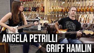 Angela Petrilli & Griff Hamlin   1969 Fender Stratocaster at Norman's Rare Guitars