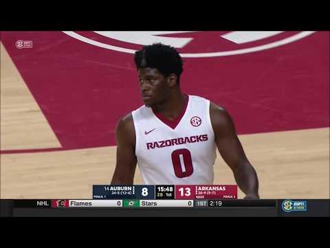 Arkansas vs. Auburn 2/27/2018